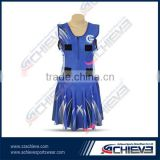 Tennis dress/Sublimated Netball Dress Bodysuits Women for cheerleaders,