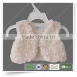 Winter new Children's clothing baby girl's coats thick pink Lace fur jackets plush hoodie jacket
