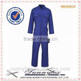 OEM welcome royal blue long sleeve design security guard uniform