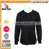 BEROY Cheap Price O-Collar Long Sleeve T-shirt for running, custom ladies running wear