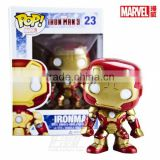 (Hot POP action figure) 10cm PVC figure the marvel collection dolls Iron-man high quality cheap price