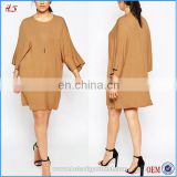 China Supplier Clothing Manufaturers xxxxl Fancy Dress Blank T-shirt Dress Plus Size Kimono Dresses