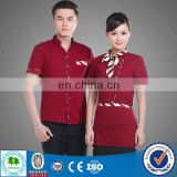 Best seller Hotel Waitress Uniform, Uniforms for Catering Staff