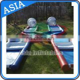 Inflatable Zorb Ball 2 Lane Criss Cross Race Track On Promotion