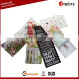 Hot selling canvas bookmark wholesale kids bookmarks