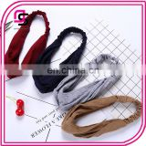 South Korea Hair Temperament Knitting Cross Movement With A Retro All-match Creative Headband Tiara