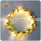 women decoraticve led flower lights plastic Alibaba Chinese manufacturer