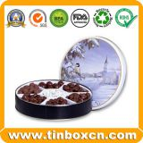 Chocolate Tin Box For Food Container