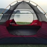 Simple Pitch Double Skin Tent 4 Man Dome Tents For Families Outdoors And Camping Trips