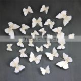 3D White Butterfly Stickers Card Making Stickers Wall Stickers 3D Crafts Butterflie SD102                                                                         Quality Choice