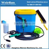 (71354) with many accessaries battery powered self service car wash equipment