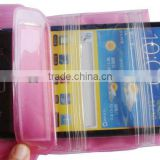 TPU recycling material wrist mobile phone two cell phone tpu case for samsung i8150beach dry bag