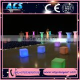 ACS Home garden exhibiton party home decoration led illuminating cube outdoor