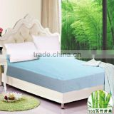Laminated waterproof fabric for bamboo mattress protector