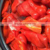 Red Bell pepper in Drums