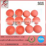 2014 New Hot Selling Ball 63mm Red Hollow Rubber Half Ball