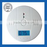 2014 hot selling fire alarm,smart smoke detector,9V battery &220VDC cigarette smoke detector