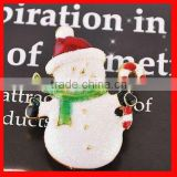 fashion custom Christmas costume jewellery brooch