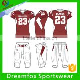 wholesale customized sublimated american football shirts, american football jerseys wear                                                                                                         Supplier's Choice