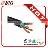 Security home application electrical cable, stranded or solid copper wire 3*1.5mm2 electric wire size