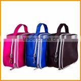 Latest Multifunctions Hand Nylon Waterproof Makeup Bag/Toiletry Bag/Travel Organizer Bag