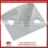 POLAR PREMIUM 1-SEGMENT Single Diamond Segment Concrete Grinding Plate For Floor Machine