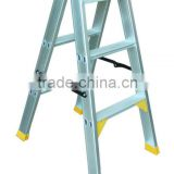 Hot Sale Double Side Aluminium Folding Step Ladder
