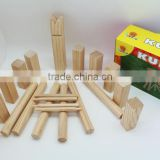 viking kubb,wooden kubb,,kubb game set for garden game