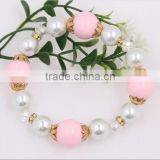 Fashion Cheap Wholesale Pearl Bracelet With Plastic Beads