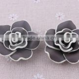 Wholesale Halloween fashion clay flower beads in bulk !loose rose flower clay beads for DIY fashion jewelrys!! Cheapest!! !!
