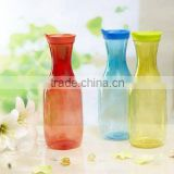 1600ml plastic water pitcher plastic flower bottle PET Milk bottle BPA Free juice bottle