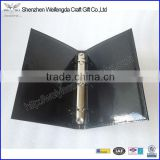 Top-grade Simple Shiny PU A5 Leather Ring Binder