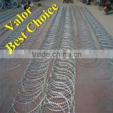 Blade barbed wire mesh manufacturer/gill net/district authority burglar mesh/fence, barbed wire the crawl