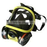 Double canister gas mask,military full face gas mask