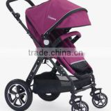 I-S021 Classic High Quality Comfortable EN1888/ASTM Baby Trolley with Car Seat