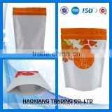 Top quality biodegradable FD food bag large plastic zipper bags, Pet food packing Aluminium foil ziplock bags