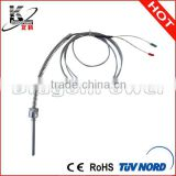 Ring/screw K type Thermocouple temperature sensor made customized with also S E J Pt