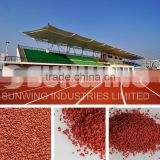 epdm rubber manafacturer raw material granules for running surface