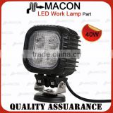 Macon China cheap hot sale auto 40w led work light for 4x4 car accessories