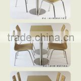 Hot sale Modern Dining Coffee bentwood restaurant chairs and table for sale                                                                         Quality Choice