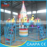 Outdoor park amusement Shenzhou 8 airplane with fence