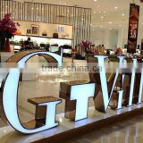 LED acrylic sign letters, 3D acrylic channel letters sign, customized acrylic 3D electronic led sign