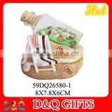 Promotional gifts beach poly sand bottle