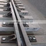 railroad turnout tie plate with chair