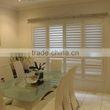 Wholesale louvre frames adjustable indoor basswood louver high quality plantation shutters from china wooden