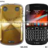 Golden Color Metal Alloy Case for Blackberry Bold 9900.Aluminum Case for Blackberry 9900