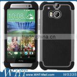Cheap Price PC Silicon Back Cover Case for HTC One 2 M8, for HTC One 2 M8 Mobile Phone Case