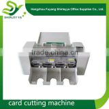 2015 alibaba Best seller brand new pvc card cutter