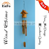 Bamboo birhouse wind chime
