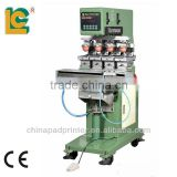 LC-SPM4-150,4-color Shutte Pad Printing Machine LC-SPM4-150 photo printing ceramic plate